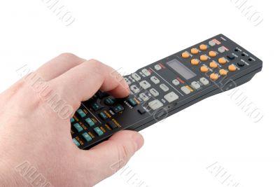 Remote control panel