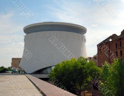 Museum - panorama Stalingrad fight. Volgograd. Russia.