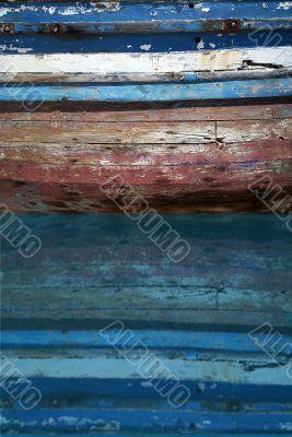 old fisherboat mirroring