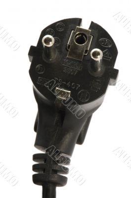 Power Cord Plug close up