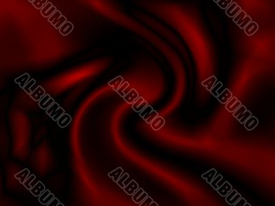 Abstract deep red textile background.