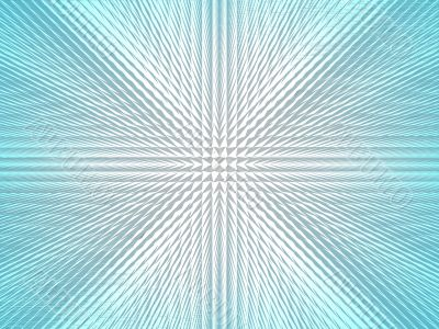 Abstract blue-white gradient background.