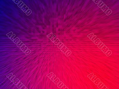 Abstract blue-red gradient background.