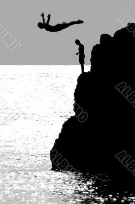 The Cliff Diver