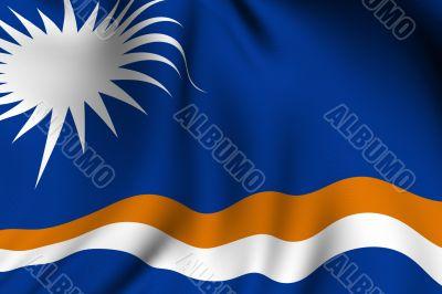 Rendered Marshall Islands Flag
