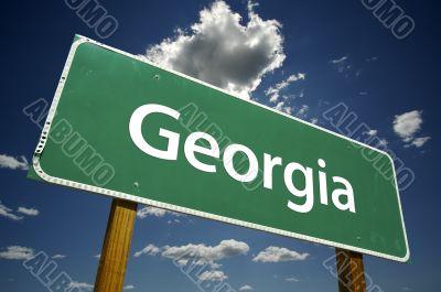 Georgia Road Sign