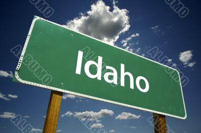 Idaho Road Sign