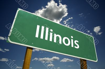 Illinois Road Sign