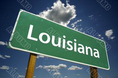 Louisiana Road Sign