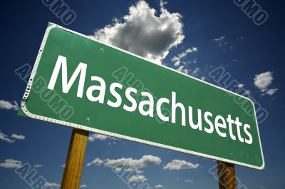 Massachusetts Road Sign