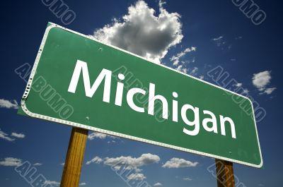Michigan Road Sign