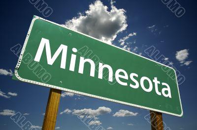 Minnesota Road Sign