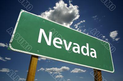 Nevada Road Sign