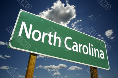 North Carolina Road Sign