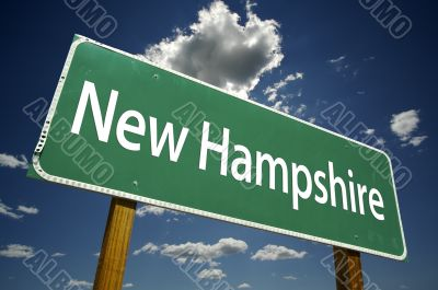 New Hampshire Road Sign