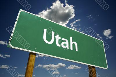 Utah Road Sign