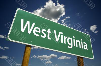 West Virginia Road Sign