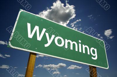 Wyoming Road Sign