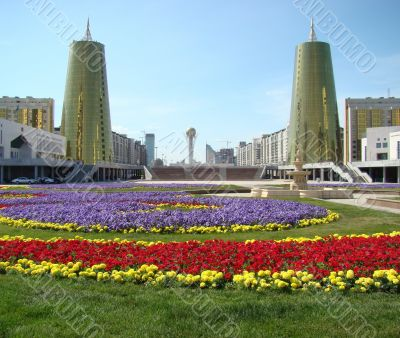 Astana city center