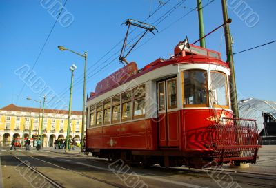 Sightseeing tram.