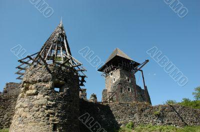 Castle in the village Nevicke
