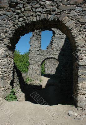 Entrance to ancient Nevicky Castle