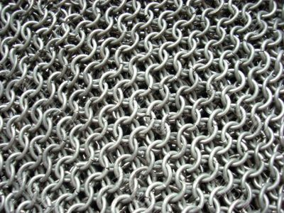 antique chain mail