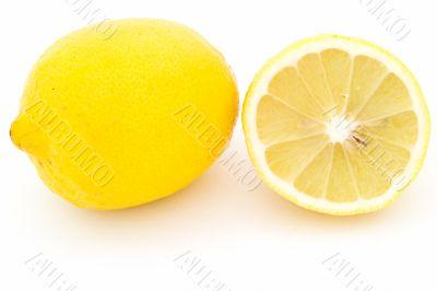 juicy yellow lemon
