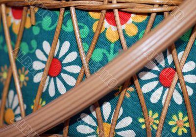 Retro Basket with Diagonal Handle