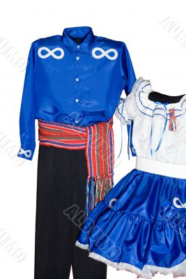 Isolated Metis Clothes