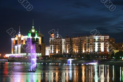 Night Astana