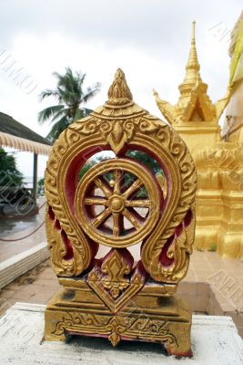 Golden stupa, Ko Samui