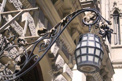 Ornate lamp