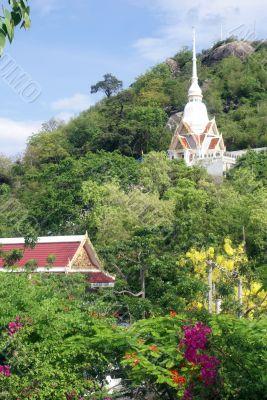 Stupa and temple