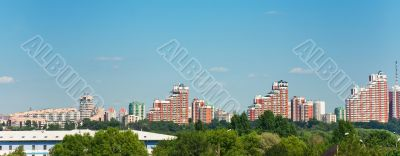Moscow modern buildings