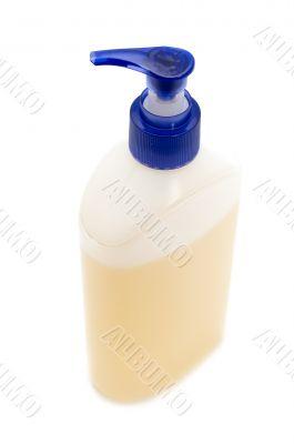 Plastic container for liquid soap