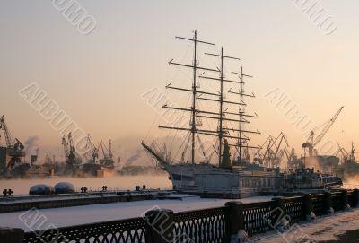 a sailing vessel