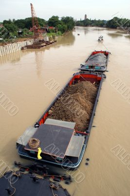 River and cargo