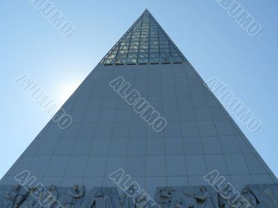 Pyramid on the highest northern mountain.(3)