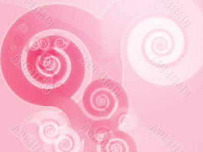 Abstract spiral swirls