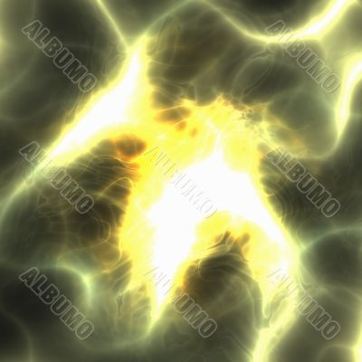 Energy aura abstract