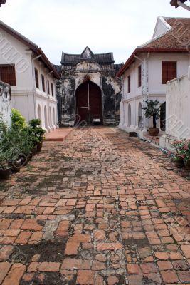 Inner yard of palace