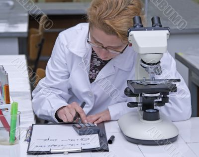 Researcher computing