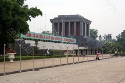 Mausoleum of Ho Shi Minh