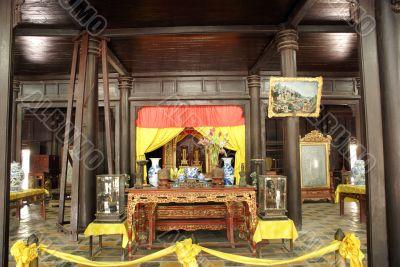Royal shrine