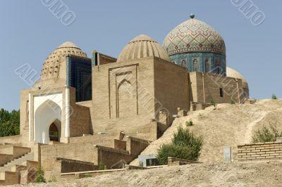 Ancient mausoleum complex