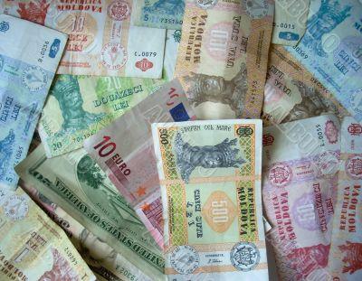 Moldavian money
