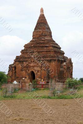 Brick pagoda