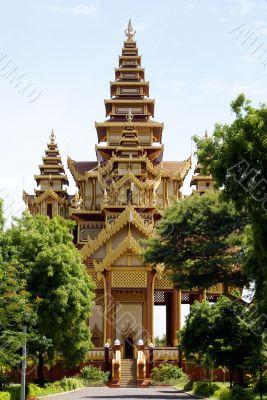 Tall pagoda