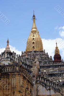 Golden dome and spire